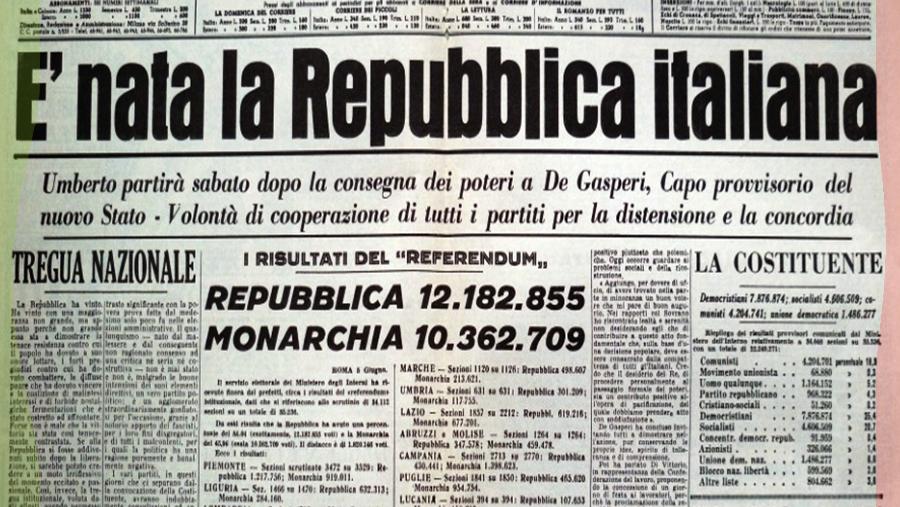 Nozioni fondamentali di storia costituzionale e diritto pubblico italiano