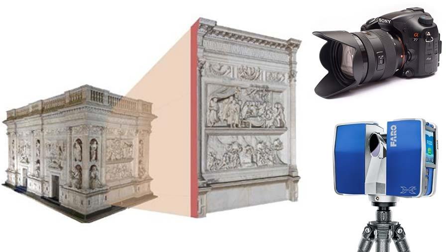 L'acquisizione digitale del dato tridimensionale per la documentazione del Cultural Heritage