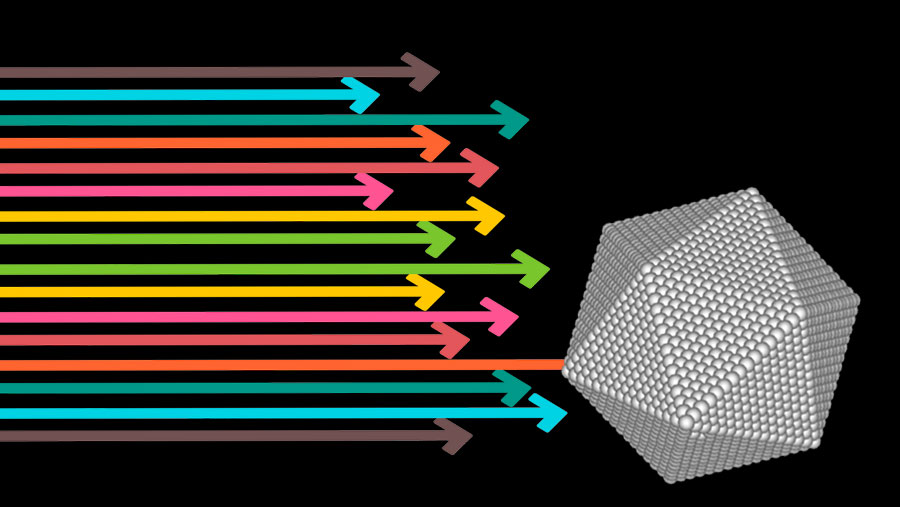 Sintesi fisica di nanoparticelle: un approccio bottom-up