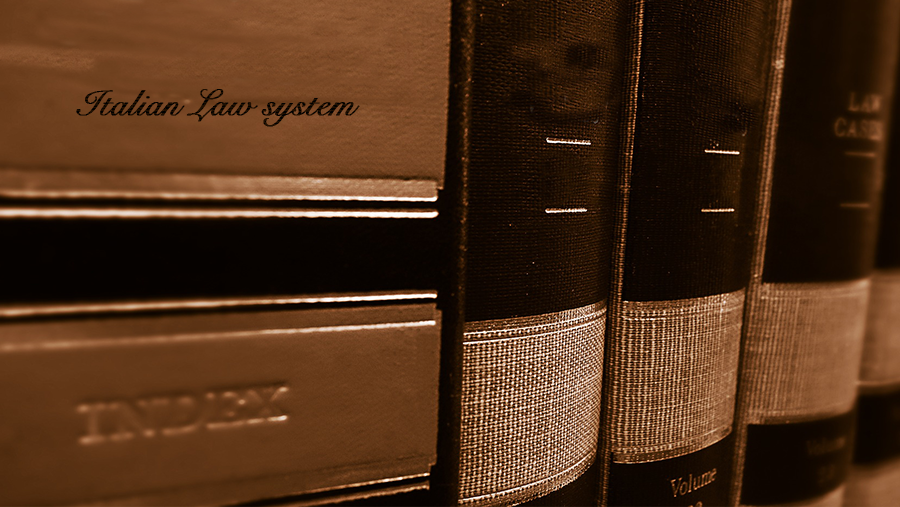 Introduction to the Italian Law system